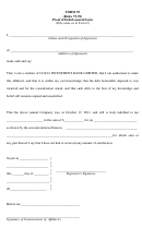 Form 55 (rules 73-78) Proof Of Debt/general Form