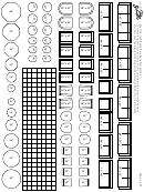Quarter-inch Scale Furniture Templates