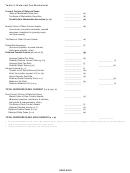 Deferred Tax Worksheet Template
