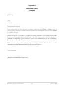 Suspension Letter Template (sample)