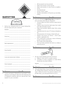 Babysitter Qualifications Checklist Template