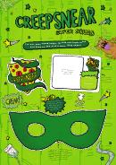 Creepsnear Super Squad Badge, Id & Mask Template