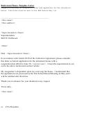 Retirement Bonus Template Letter