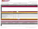 Sample Staff Evaluation Template