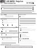 Pledge Form - United Way