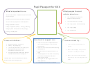 Pupil Passport Template