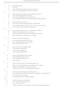 Beck's Depression Inventory Worksheet