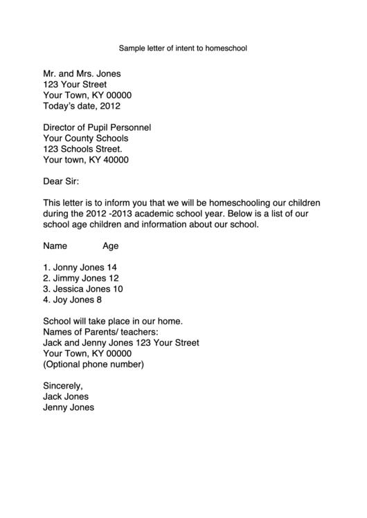 sample form pdf 1 page