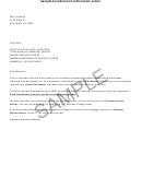 Sample Enrollment Confirmation Letter Template