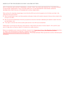Sample Letter For Schools In Year 1 Holding Pattern