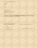 Sample Authorization Letter - Pink Template