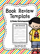 Book Commercial Review Template