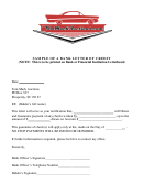 Sample Bank Letter Of Credit Template