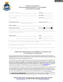 Pre-authorized Property Tax Payment Application Form