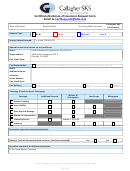 Certificate/evidence Of Insurance Request Form