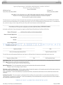 Affidavit Of Review Of A Certified New Mexico Birth Certificate