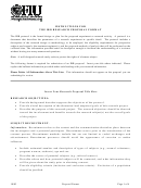 Irb Research Proposal Format Form