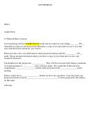 Sample Audit Bid Letter Template