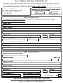 West Virginia New Hire Reporting Form
