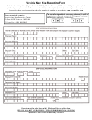 Virginia New Hire Reporting Form