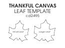 Maple Leaf Templates