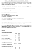 Papers Required By The Priest In Preparation For A Marriage - Kilmore Diocese