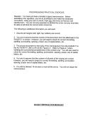 Ar 25-50 Memorandum Template