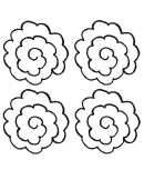 Flower Leaf Template