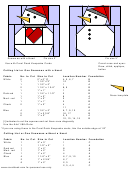 Snowman With A Red Heat Cut-out Template