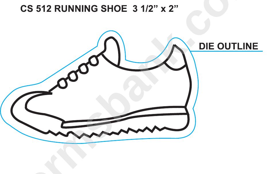 Cs512 Run Shoe Template Printable Pdf Download