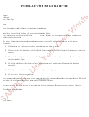 sample business letter mortgage statement sample printable pdf 1586