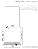 Library Card Pocket Template