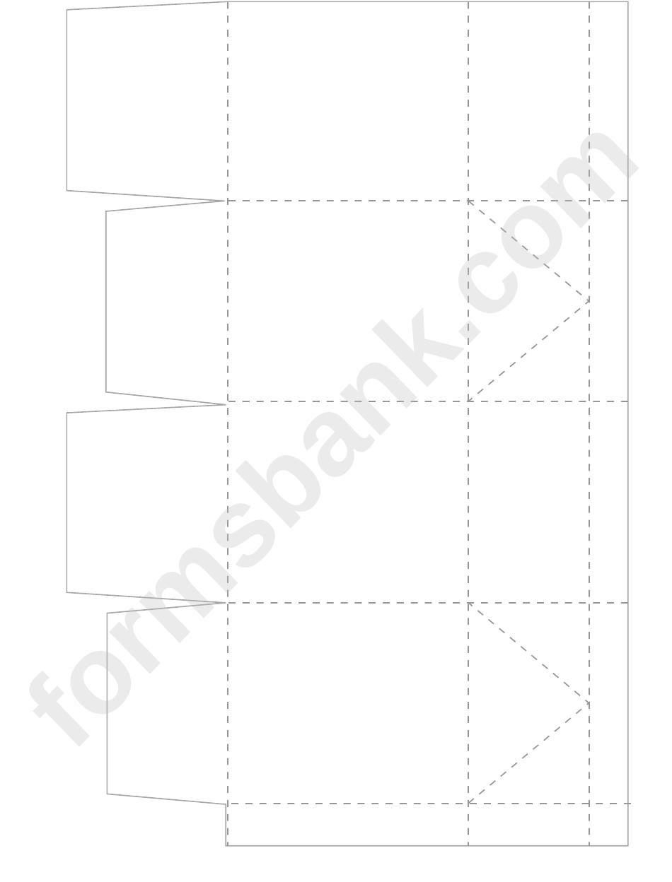 cupcake box folding template printable pdf download. Black Bedroom Furniture Sets. Home Design Ideas