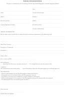 Sample Order Confirmation Letter Template