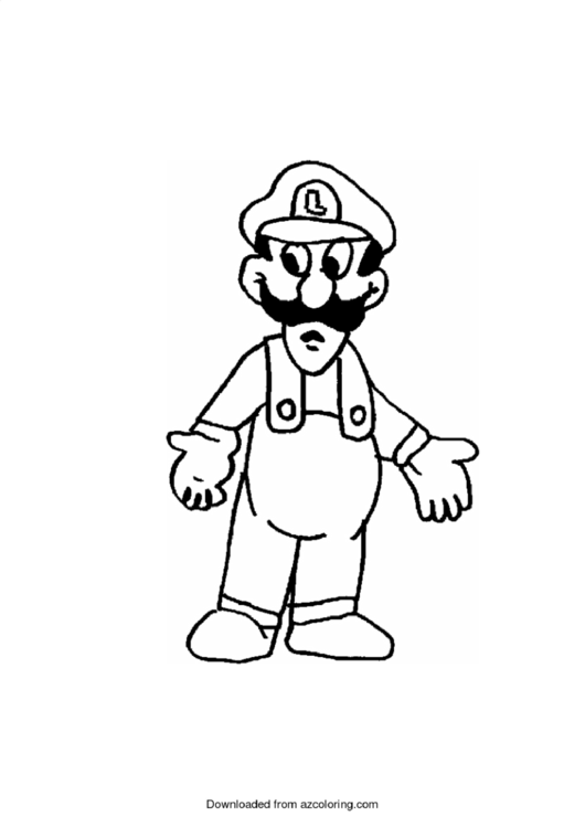 Super Mario Brothers Coloring Sheets Printable Pdf Download