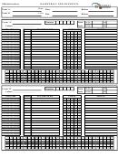 Basketball Official Scoresheet Template - Basketball New Bunswick