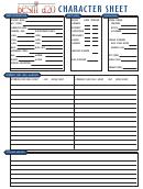 Besm Deluxe Character Sheet