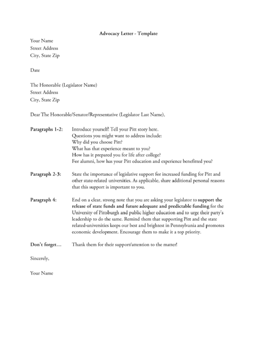 pretty advocacy letter template images pdf letter google women on