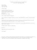 Template For Academic Suspension Appeal Letter