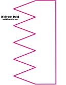 Pink Birthday Crown Template