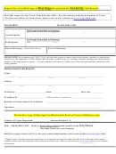 Request For A Certified Copy Of Marriage Record From The Town/city Vital Records