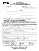 5 Redetermination Form Templates free to download in PDF, Word and ...