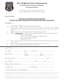 Change Of Address Notification For License To Carry Firearms And Firearms Identification Card