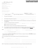 Vfp 112.25 - Articles Of Revocation Of Dissolution - Illinois Secretary Of State