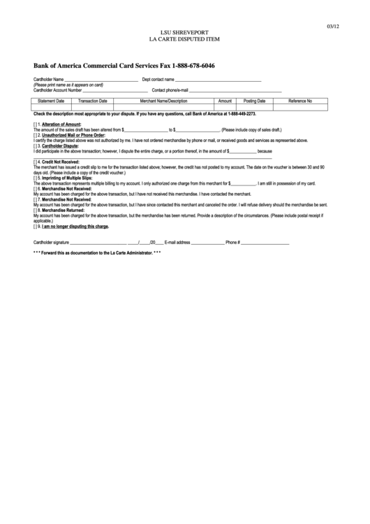 Top 13 Bank Of America Forms And Templates free to download