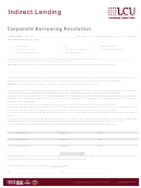 Lcu Corporate Borrowing Resolution