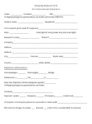 Ssrl/lcls User Shipping Request Form printable pdf download