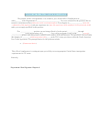 Sample Of Tn Visa Employment Letter