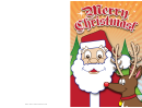 Santa Christmas Card Template