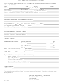 Last Will And Testament Worksheet